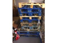 10+ pallets (euro and UK sized). FREE to collect, SM3 9QS (in the Big Yellow)