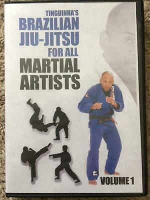 Brazilian Jiu-Jitsu for All Martial Artists DVD by Tinguinha Mariano Grappling