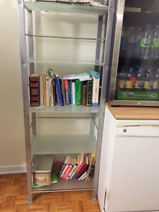 URGENT - STRUCTUBE GLASS BOOKCASE