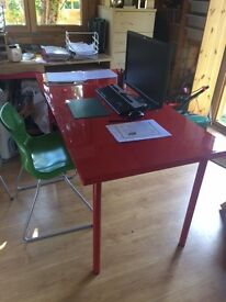 Large Table - Red