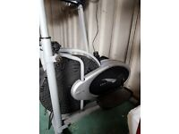 Pro Fitness Cross Trainer and Exercise Bike.