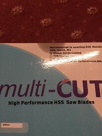 SAW BLADE --MULTICUT HIGH PERFORMANCE HSS SAW BLADE