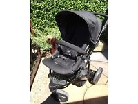 Britax B-Smart 3-wheel Stroller incl. rainhood