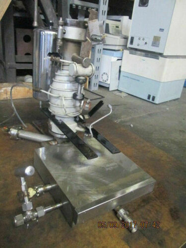 NRC VARIAN DIFFUSION VACUUM PUMP_LOOKS GOOD_SOLD AS-IS_MAKE OFFER!~