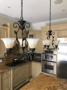 Kitchen island,dining room lights fixtures