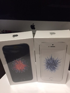 3 Brand New IPhone SE, 32 gigs with Bell