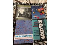 Psychology textbooks (Helped me get a 1st in my degree)