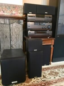 Home Kenwood Stereo System