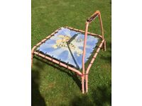 mini trampoline - ideal for lively toddler
