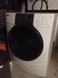Kenmore Elite HE3 Front Load Electric Dryer - White.