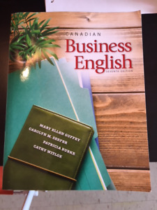 Canadian Business English Text Book 7th Edition/ Need Gone asap