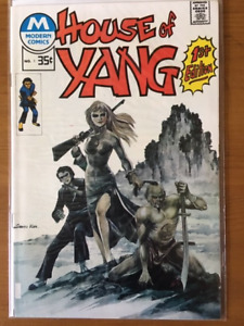 HOUSE OF YANG #1 comic book - 1975 - high grade - $20.