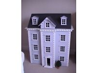 Four Storey Dolls House with some furniture