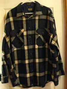 "Men""s Flannel Shirts  and gray vest Windsor Region Ontario image 1"