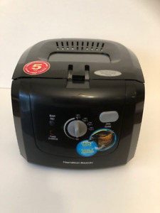 Hamilton Beach Deep Fryer (New never used - no box)