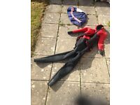 Arctic semi dry wet suit - suitable for diving in British Waters