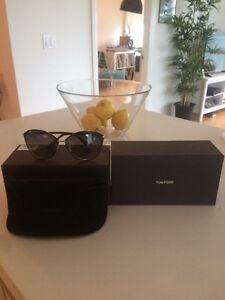 Tom-Ford Penelope Black Oversized Sunglasses - BRAND NEW