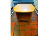 Bedside table . Size : H=48cm , W=59cm , D=46cm
