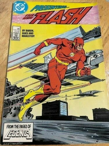 The Flash #1 MOVIE! (June 1987, DC) New Teen Titans appearance