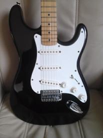 Stratocaster guitar.