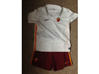 AS Roma Football Kit size 7-8