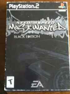 Need for Speed: Most Wanted BLACK EDITION PS2 Kingston Kingston Area image 1