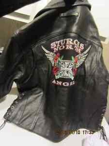Ladies Large Custom Motorcycle Jacket -