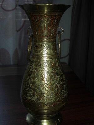 Vase aus Messing orientalisch  alt -antik
