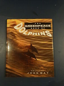 The Greenpeace Book of Dolphins Kitchener / Waterloo Kitchener Area image 1