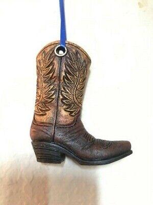 Western Cowboy Boot Ornament
