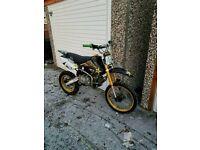 M2R 160cc racing pit bike SWAP FOR off rod 4x4 not kx cr rm ttr mtx atv 125 110 85 65 ect