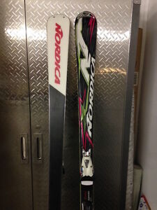 Nordica Skis and Bindings - Excellent Condition