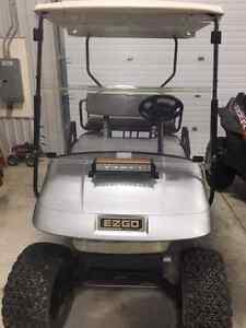 2007 ez go golf cart /4 seater /lifted London Ontario image 5