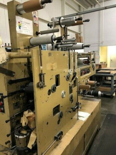 Mark Andy 820 - 3 color Flexographic Printing Press