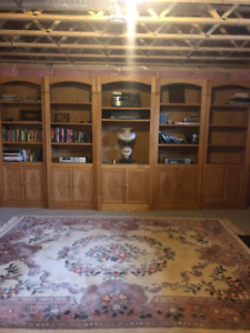 Custom Wall Unit.  Possible trade for art
