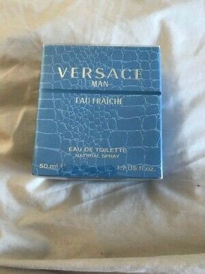 Versace Man Eau Fraiche, 50ml Eau De Toilette, Brand New in Box