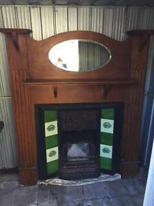 BEAUTIFUL Cast Iron Fireplace and mantle surround Lindfield Ku-ring-gai Area Preview