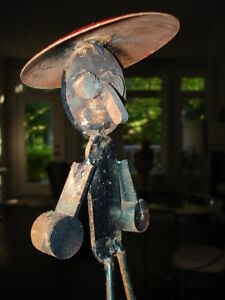 STEEL ART SCULPTURE just too funny!! artist made WHIMSY Cambridge Kitchener Area image 6