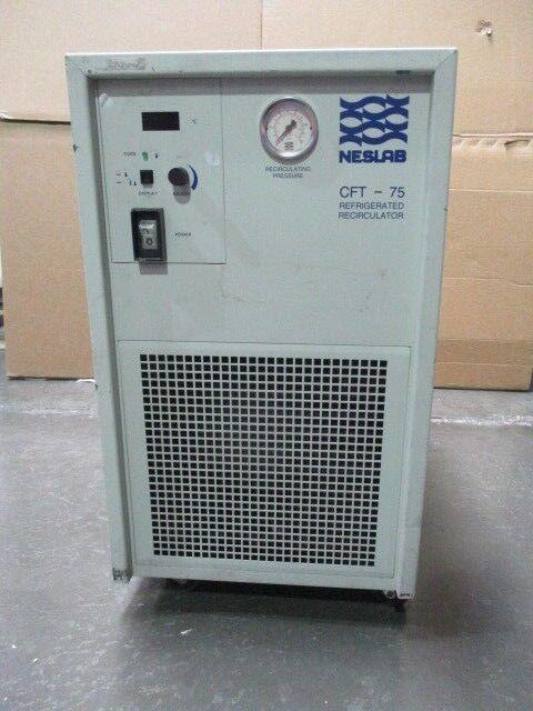 Neslab CFT-75 Recirculating Chiller, BOM 395104040202, 450775
