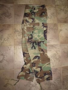Woodland BDU US Army Cargo Pants Small