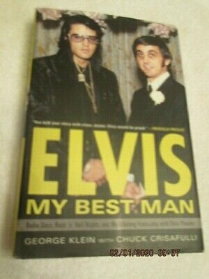 Elvis; My Best Man Book autographed by author George Klein to Personal