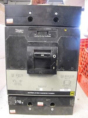 Square D Mhp36600 3 Pole 600 Amp 600 Volt Circuit Breaker- W Test Report