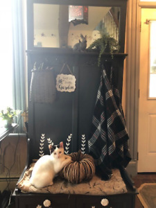 Entry Tree Hall Bench with Storage