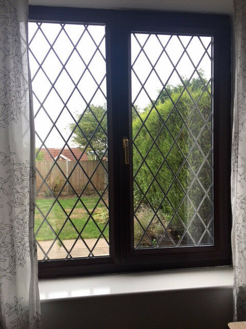 Rosewood Upvc 2 Windows And Patio Door For Sale In West Bridgford
