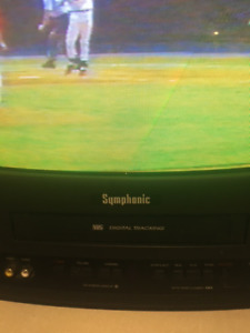 Symphonic 13in Television TV/VCR Combo