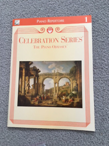 Celebration Series the Piano Odyssey Piano Repertoire Book