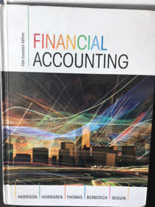 HRM Finance Textbooks:  Financial and Managerial Accounting