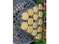14 Pickle Jars. 5 x large and 9 x medium