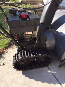 Snowblower with Tracks Great Shape Used Very Little
