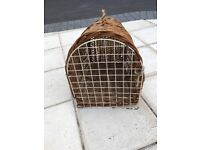 Cat/small Dog Wicker Carrier